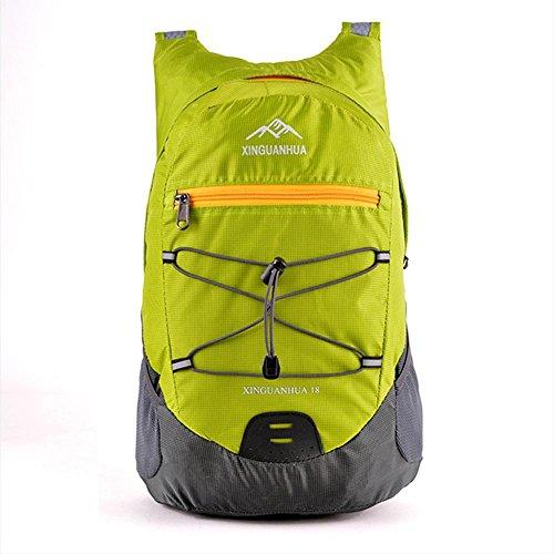 Borsa a tracolla, all'aperto sacchetto impermeabile luce spalla, conveniente viaggiare zaino, borsa pieghevole