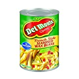Del Monte French Style Seasoned Wax Beans, 398 ml, Pack of 24