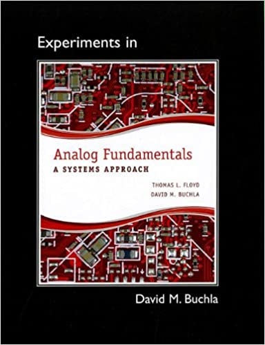 Lab Manual For Analog Fundamentals A Systems Approach