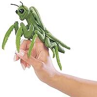 Folkmanis mini títere de dedo mantis religiosa