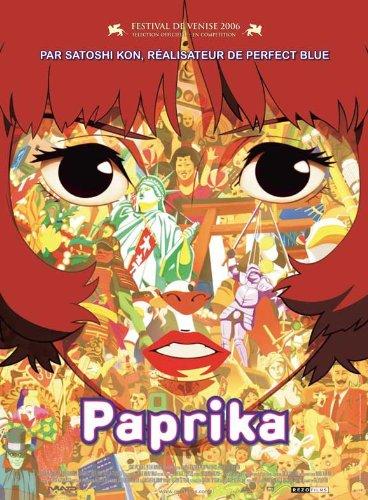 Paprika Movie Poster 2006 French - Megumi Hayashibara T?ru Furuya K?ichi Yamadera Katsunosuke Hori
