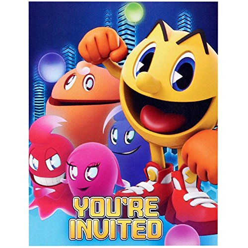 PAC-MAN and the Ghostly Adventures Invitations (8)