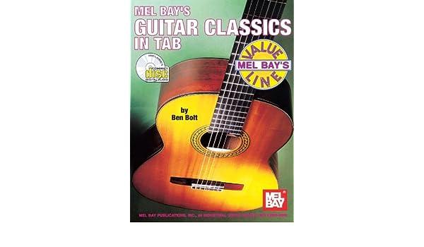 Guitar Classics in Tab. Partituras, CD para Guitarra, Acorde de ...