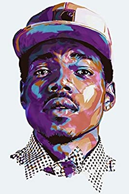 A-ONE POSTERS Chance the Rapper Poster Print 12 x 18 inch By