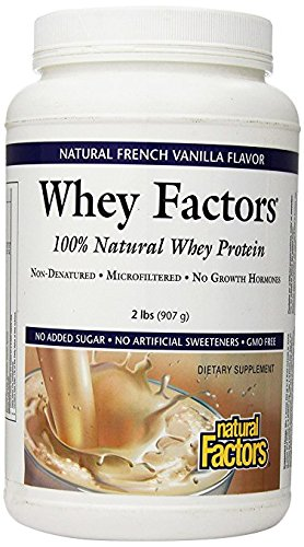 Natural Factors Protein Vanilla Servings