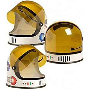 - 51K W6 2BTQdL - Aeromax ASO-Helmet Youth Astronaut Helmet with Movable Visor, Orange, Youth Size fits Most Ages 3-10