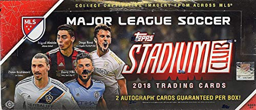 541a9e116f1 Image Unavailable. Image not available for. Color  2018 Topps Stadium Club MLS  Soccer HOBBY box ...