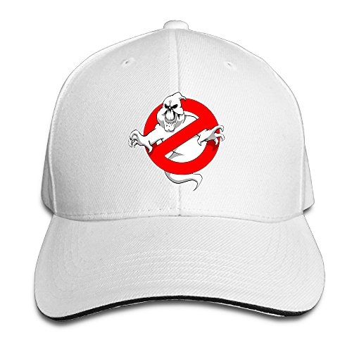 rotatel-ghost-supernatural-comedy-film-busters-b-boy-caps-adjustable-white