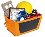 Best Simple Dorm Room Gifts - 2 Pack - Storage Bin With Chalkboard Review