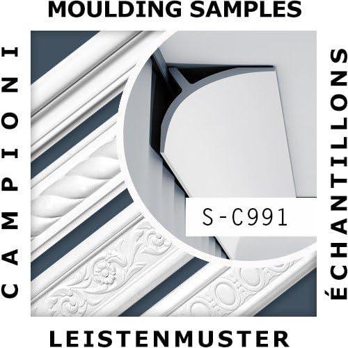 1 MUSTERST/ÜCK S-C991 Orac Decor LUXXUS MUSTER Eckleiste Deckenleiste ca 10 cm lang
