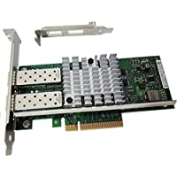 10GbE Converged Network Adapter (CNA) mounting to Intel X520-SR2 Controller PCI-E X8 Dual SFP+ Port