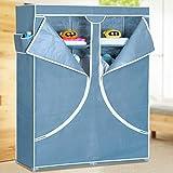 Generic Fashion Designed Double Reinforced Clothes Wardrobe Closet Storage Cabinet Rack