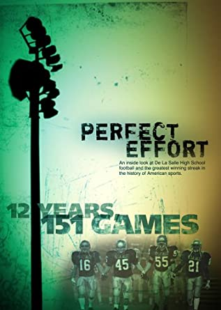 Amazon.com: Perfect Effort: Bob Ladouceur, Matt Gutierrez, Demitrius ...