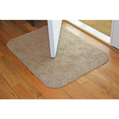 Dirt Stopper Doormat, 20 x 30, Brown/White