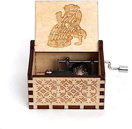 N/X Davy Jones Locket Music Box Antique Carved Movie Pirates of ...