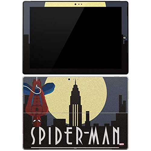 (Marvel Spider-Man Surface Pro 3 Skin - Spider-Man Skyline Noir Vinyl Decal Skin For Your Surface Pro 3)