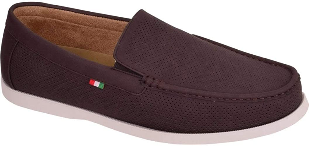 Mens Italian Slip On Casual Loafers