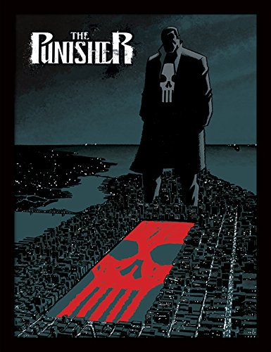 iPosters Marvel Extreme Punisher Framed 30 x 40