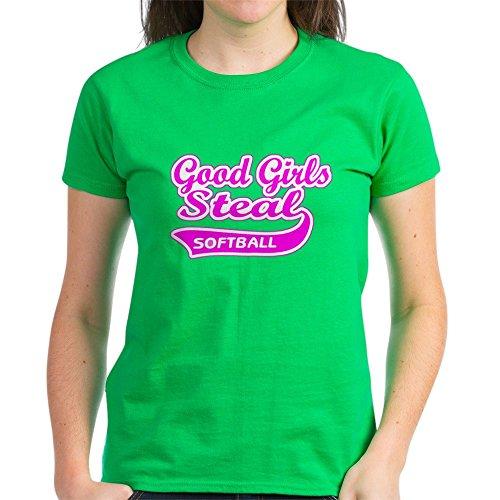ls Steal (Pink) - Womens Cotton T-Shirt ()