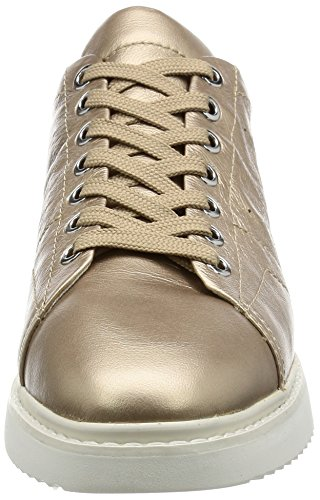 Geox Or Champagnecb500 Thymar D A Sneakers Basses Femme w8BfA41q