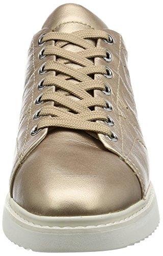 Geox D Thymar a, Zapatillas para Mujer Dorado (champagnecb500)
