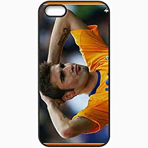 Personalized iPhone 5 5S Cell phone Case/Cover Skin Adrian muttu euro fiorentina Black