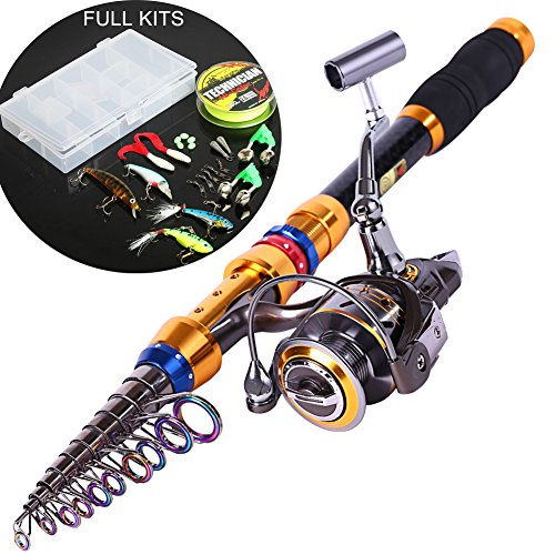 Sougayilang Portable Telescopic Fishing Spinning