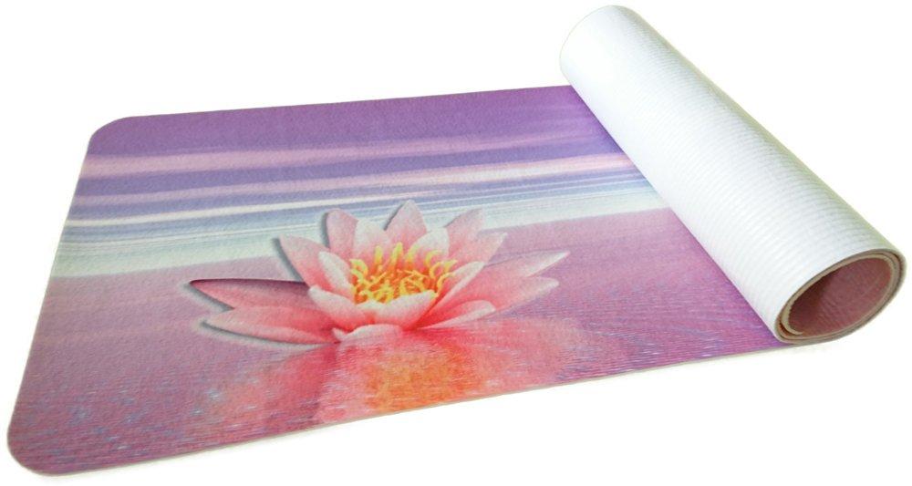 Papillon – Impreso Yoga de Alta resolución Mat-Non Slip