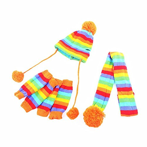 Edal Pom pom Clothes Costume Knitted