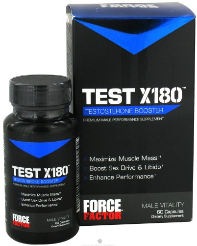 FORCE FACTOR TEST X180 60 CAPSULES