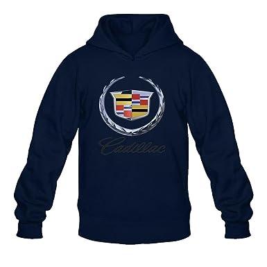 Men S Cadillac Cars Logo Pullover Hoodie Sweatshirt At Amazon Men S