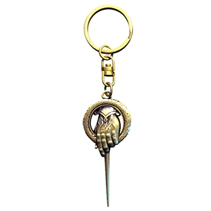 Game of Thrones KEY103 Hand of The King 3D Effect Keychain