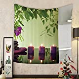 Gzhihine Custom tapestry Spa Decor Tapestry Spa with Spring Water and Health Giving Properties Asian Eastern Way of Getting Better Art Photo Bedroom Living Room Dorm Decor 60 x 80 Multi