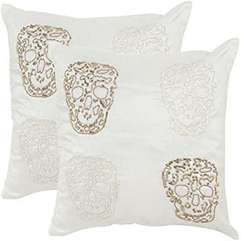 Amazon.com: Safavieh Pillow Collection Throw Pillows, 18