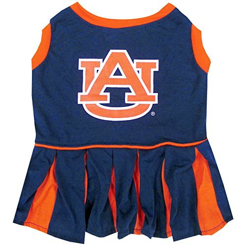 NCAA Auburn Tigers Dog Cheerleader Outfit, Small]()