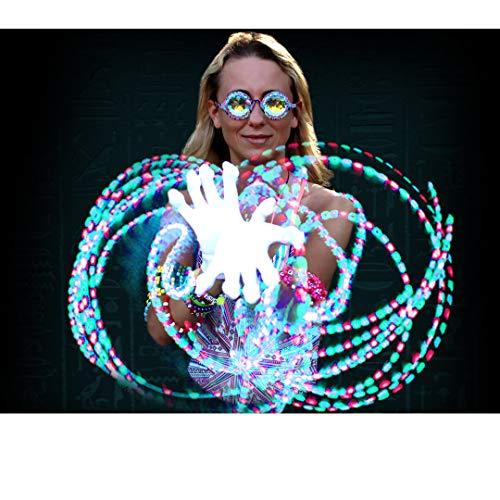 GloFX Lux Glove Set - Light Up LED Rave EDM