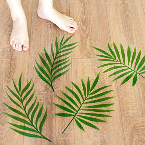 ceiba tree Palm Leave Floor Decals Stickers for Hawaii Luau Party Supplies Party Decorations