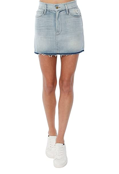 2d4c4b7c4 FRAME Denim Le Mini Frayed Waist Skirt, Sawyer, 24: Amazon.ca: Clothing &  Accessories