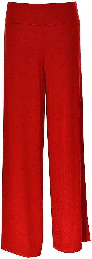 DangerousFX Gothique Jambe Large Flatteur Taille Haute Extensible Pantalon Palazzo//Pantalons en 16 Classique Styles Taille 16-24