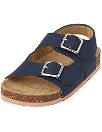Kids' TB DBL Bckl Scou Flat Sandal