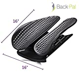 Back-Pal Lumbar Support; Lower Back Support; Ergonomic Design for Lower Back Pain Relief. Ideal for Car Office Chair (Black)