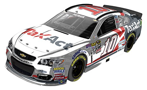 Lionel Danica Patrick #10 TaxAct 2016 Chevrolet SS NASCAR Diecast Car (1:24 Scale), Chrome ()