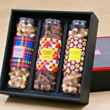 Gift Colo waffle Set of 3 1 box (three assortment) cookies (plain maple Chocolat)
