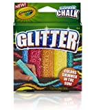 Crayola Special Effects Sidewalk Chalk - Glitter (2-Pack)