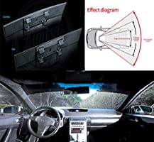 Broadway 270MM Convex Interior Clip On Rear View Blue Tint Mirror Universal 2