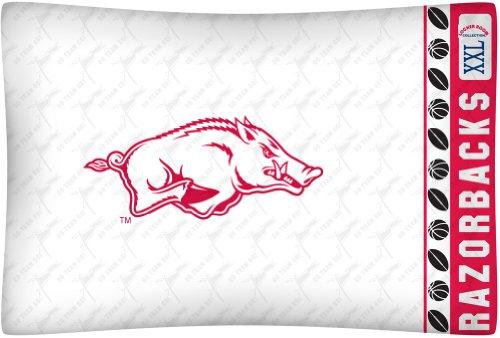 NCAA Arkansas Razorbacks Micro Fiber Pillow Case ()
