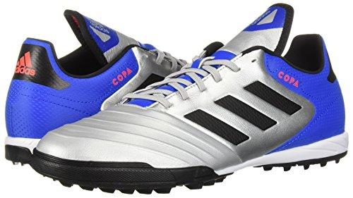 more photos 0ed76 c14e1 adidas Mens Copa Tango 18.3 Turf Soccer Shoe, Silver  MetallicBlackFootball Blue