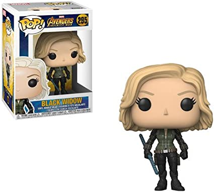 Funko Avengers Infinity War POP Black Widow Vinyl Figure NEW Toys Movie
