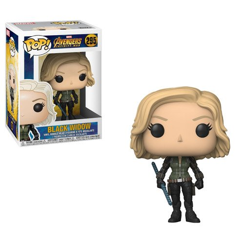 Funko, Figura Coleccionable Black Widow, Avengers Infinity War