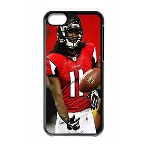 High Quality Phone Back Case Pattern Design 17Julio Jones,Atlanta Falcons Seires- For Iphone 5c